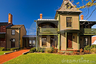 Old Victorian Era House with Addition