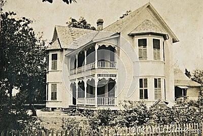Old Victorian Home/Vintage