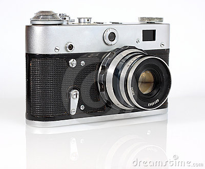 Old viewfinder  photo camera