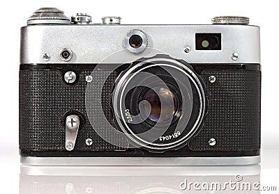 Old viewfinder  photo camera