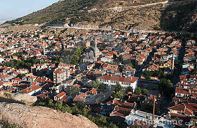 Old Village of Afyon Of Central Anatolia, Turkey