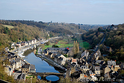 The old village of Dinan