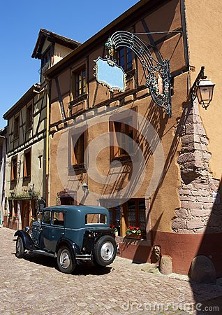 Old village in france