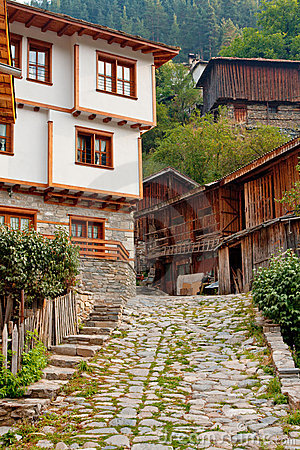 Old village houses