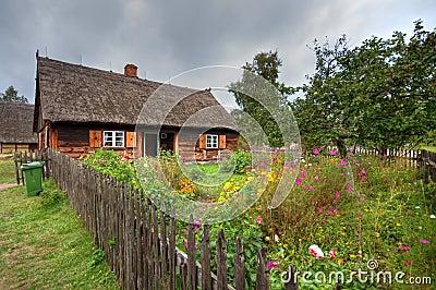 Old village in Poland