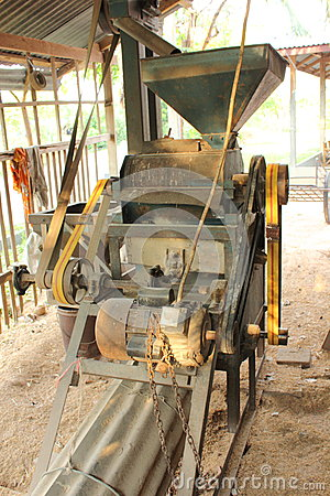 Free Old Village Rice Mill Royalty Free Stock Image - 30935286