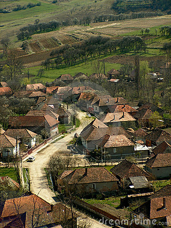 Old village in Romania