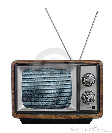 Old vinatage television