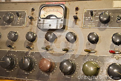 Old Vintage Antique Electronic Control Board