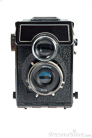 Free Old Vintage Camera Royalty Free Stock Photography - 17014317