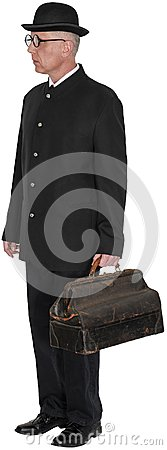 Free Old Vintage Country Doctor Isolated Stock Photo - 115624010