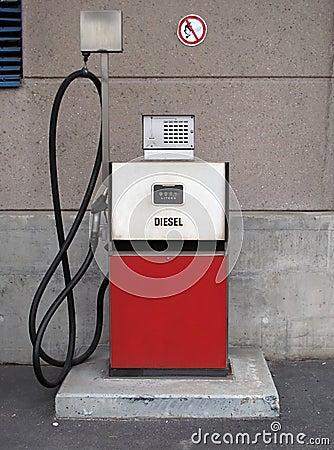 Free Old Vintage Gas Petrol Pump Royalty Free Stock Photos - 14043918