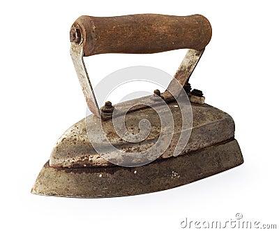 Old vintage iron