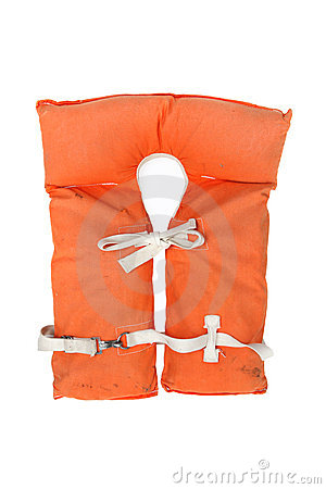 Old Vintage Life Jacket Stock Photo Image 17769560