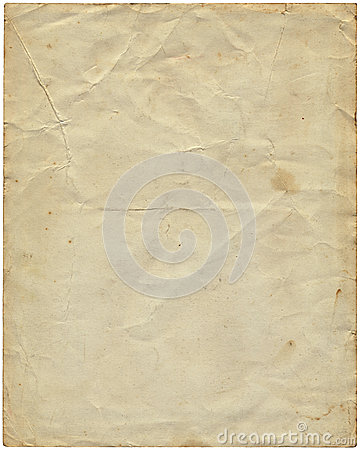 Free Old Vintage Paper From 1977. Stock Photo - 33959520