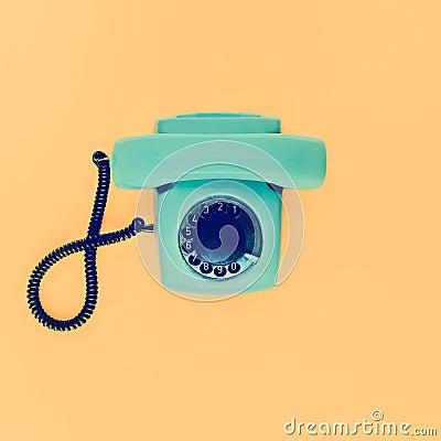 Free Old Vintage Phone Stock Image - 48621591