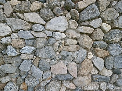 Old Vintage Stone Wall