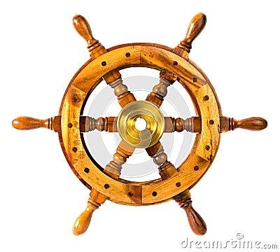 Free Old Vintage Wooden Steering Sheep Wheel Royalty Free Stock Photo - 66306415