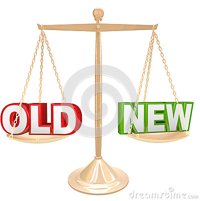 Old Vs New Words on Balance Scale Weighing Comparison
