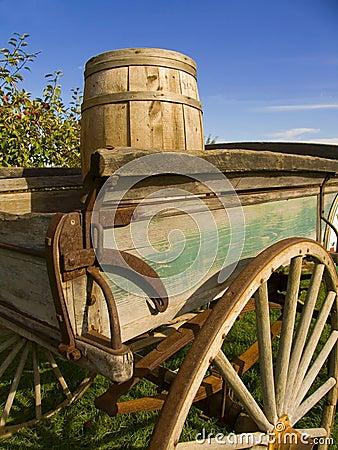 Free Old Wagon Royalty Free Stock Image - 454236