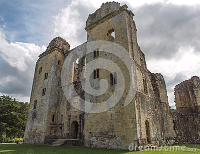 Old Wardour Castle, Wiltshire, England Editorial Image