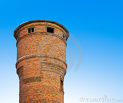 The old water tower.