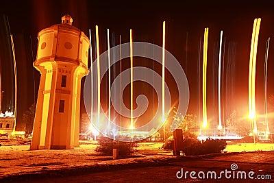 Old water tower in Vukovar