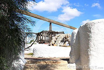 Old watermill in Pozo de los Frailes, Andalusia