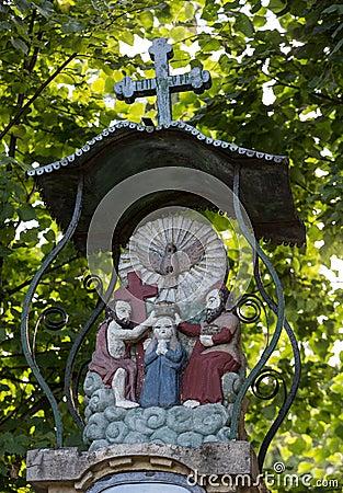 Free Old Wayside Shrine Stock Image - 58423641
