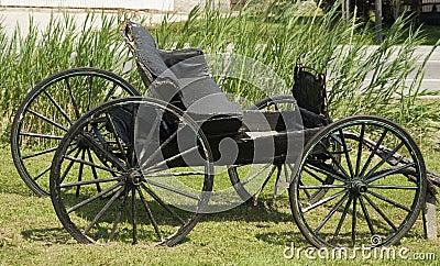 Old weathered buggy