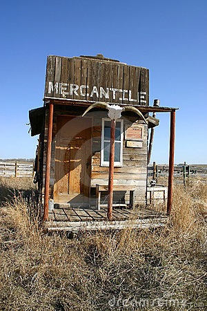 Old West Mercantile Building Stock Photos Image 271243