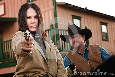Old West Partners Aim Guns