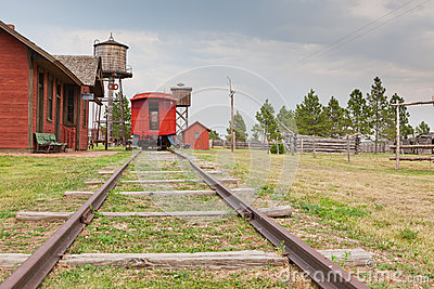 Old West Train Station