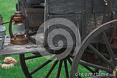 Old Western Chuck wagon