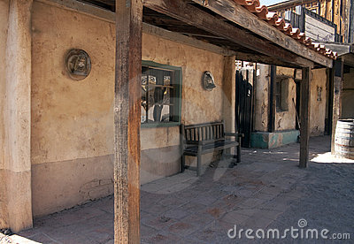 Old Western Cowboy Cantina Saloon