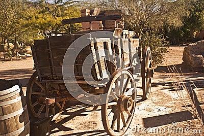 Old Western Wagon