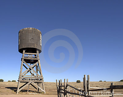 Old Western Water Tower
