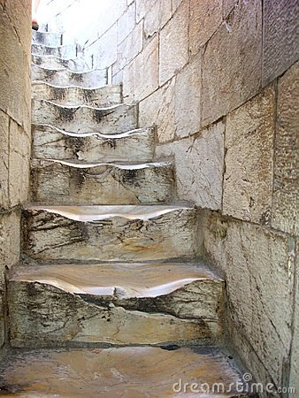 Old Winding Stairs In Pisa Italy Stock Image Image