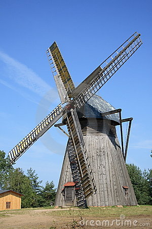 Free Old Windmill Royalty Free Stock Photography - 7038947