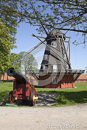 Old Windmill in Copenhagen