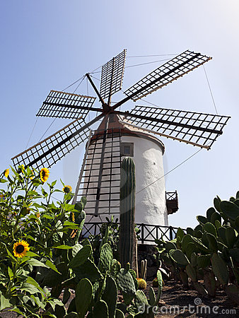 Old windmill, Grand Canary, Spain