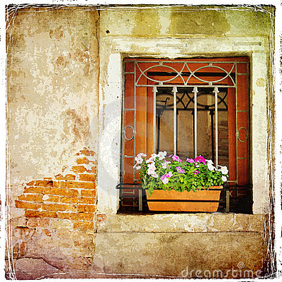 Free Old Window Royalty Free Stock Photos - 10686828