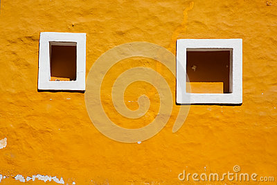 Old window in Coyoacan