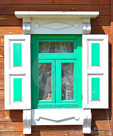 Old window shutters