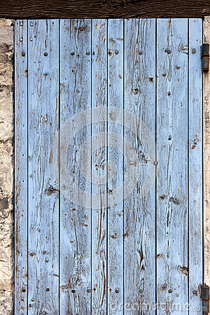 Old window shutters, closed