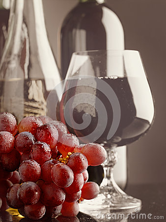 Old wine.