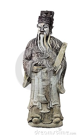 Free Old Wise Man Statue Royalty Free Stock Photo - 39753085