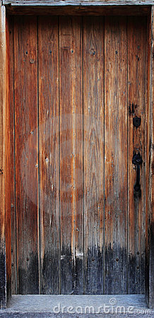 Free Old Wood Door Royalty Free Stock Image - 10703586