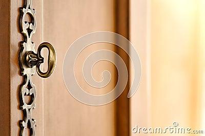 Old Wood Furniture Decorative Door Handle Hardware