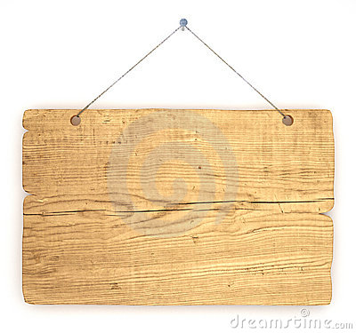 Free Old Wood Notice Board Royalty Free Stock Photo - 10502385
